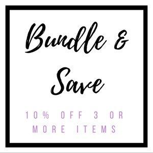 Other - • bundle  &  save •